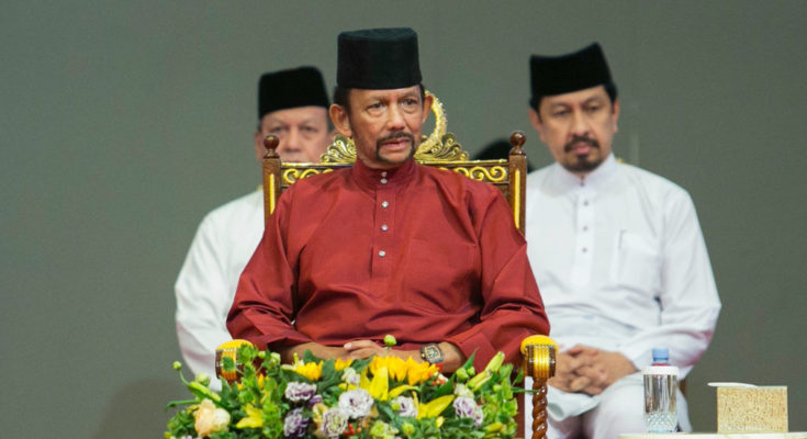Gay Sharing Brunei Says It Won't Execute Gays After Protests of Stoning Law