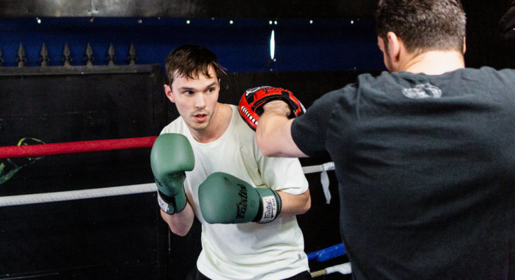 Gay Sharing Nicholas Hoult Sweats Gracefully in the Boxing Ring