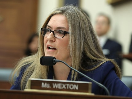 Rep. Jennifer Wexton (D-VA) on Capitol Hill May 22, 2019 in Washington, DC.