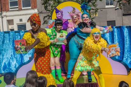 The drag show for kids is a celebration of diversity and inclusivity (Emwa Jones)
