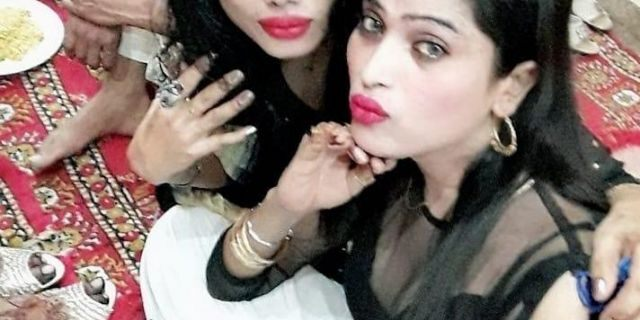 Nani Begum and her fellow Bengali sex worker in Karachi, Pakistan