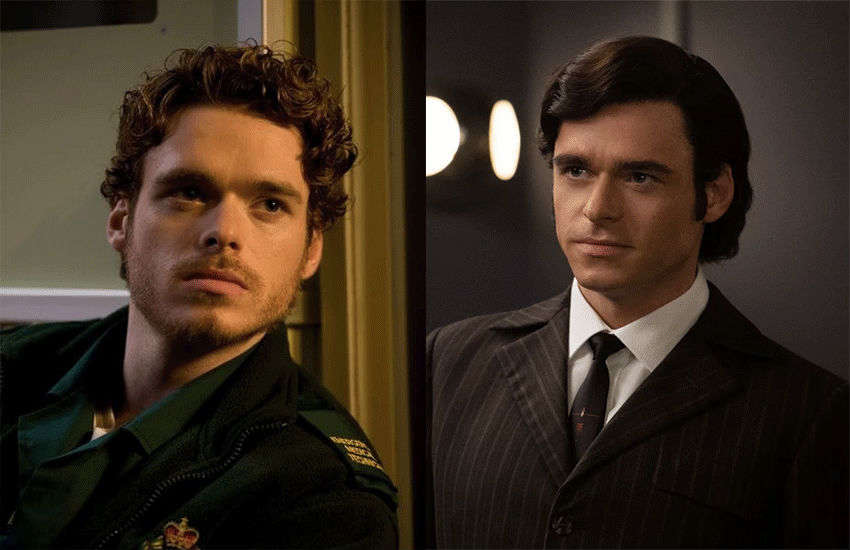 Richard Madden compares gay sex scenes in past TV show Sirens to Rocketman (VIDEO)