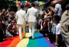Gay Sharing Taiwan gay marriage: Hundreds of couples tie the knot on historic day | World News