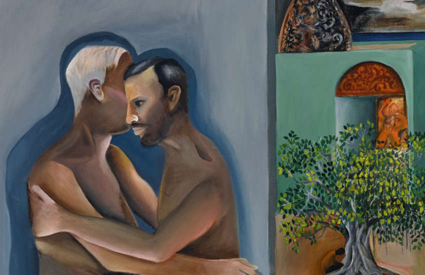 Painting by Indian artist depicting gay lovers sells for US$3.2 million