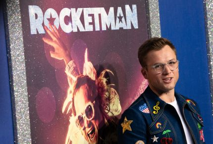 Welsh actor Taron Egerton attends the US premiere of Rocketman on May 29, 2019 at Alice Tully Hall in New York.