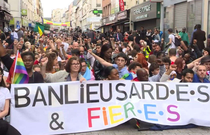 France holds first ever suburban gay Pride march