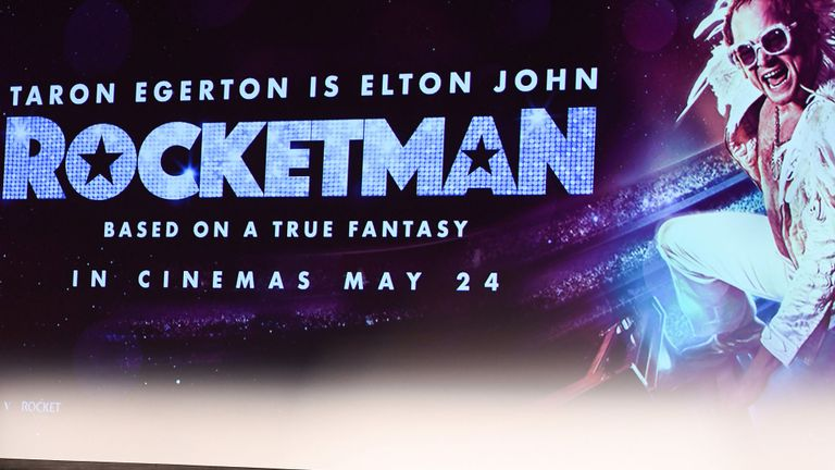Rocketman will premiere at the iconic Cannes Film Festival on May 16