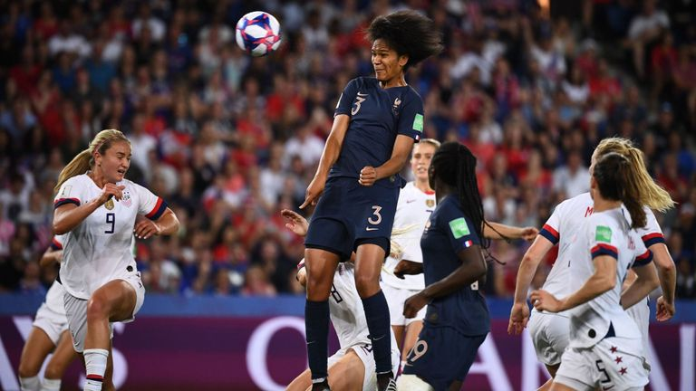 Wendie Renard gives France hope with a late goal