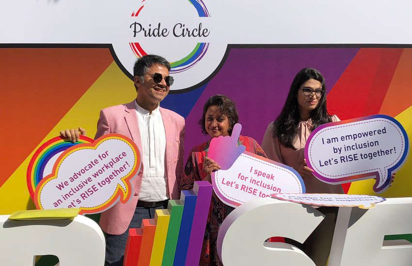 Sell-out crowd for India's first LGBTI job fair
