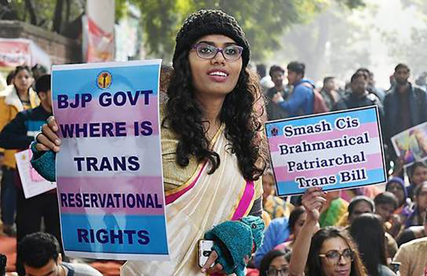 Trans woman's head smashed with stones by lynch mob in India