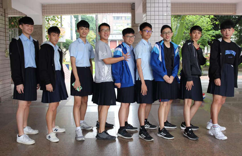 Parents groups protest after school allows boys to wear skirts