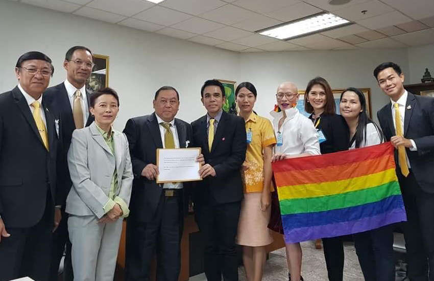 Transgender activists in Thailand propose law to protect their rights