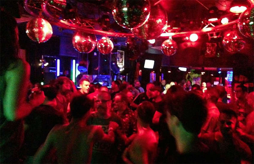 A packed dancefloor at Eagle London in Vauxhall - home of Debbie