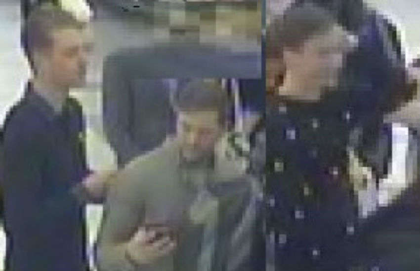 Police search for attackers who punched gay man unconscious on London train