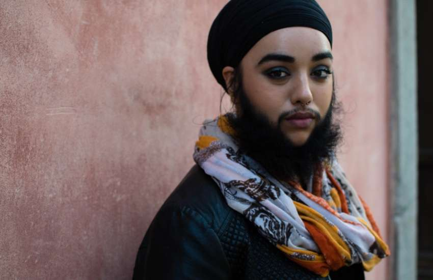 'Bearded lady' Harnaam Kaur: 'I don't give a sh*t about gender stereotypes'