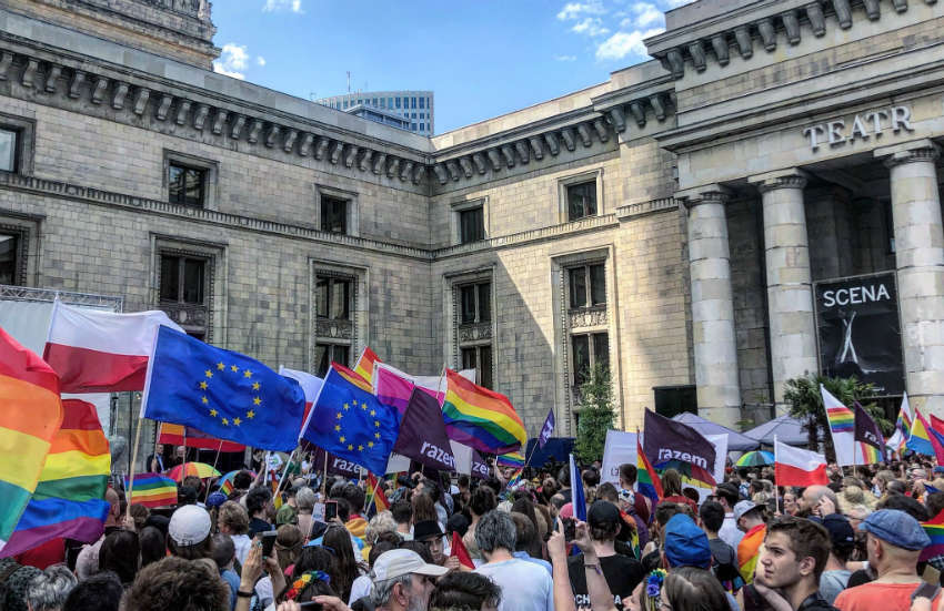 Over 1,000 take to the streets of Warsaw in support of LGBTI rights