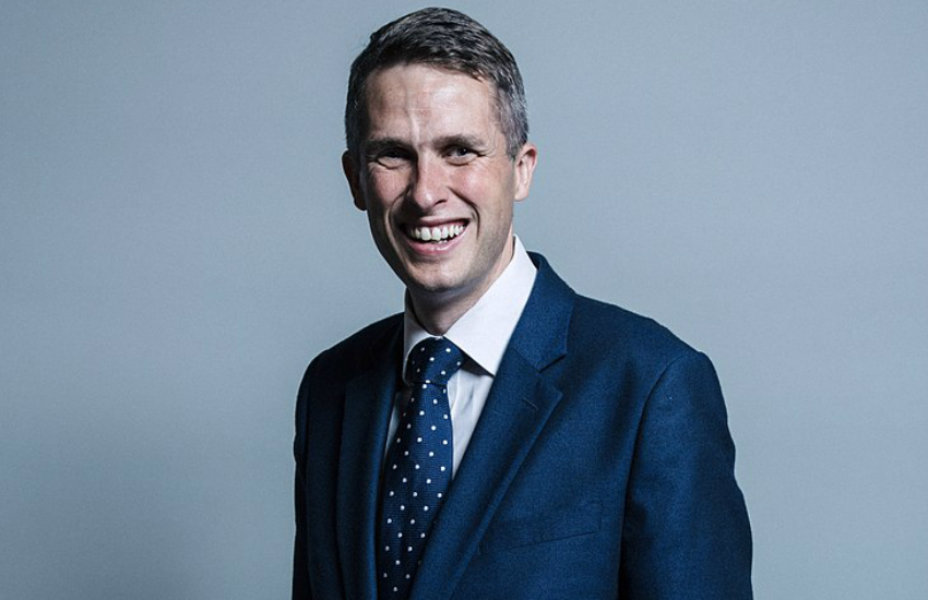 Gavin Williamson LGBTI rights