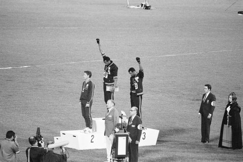 Tommie Smith and John Carlos Olympics protest