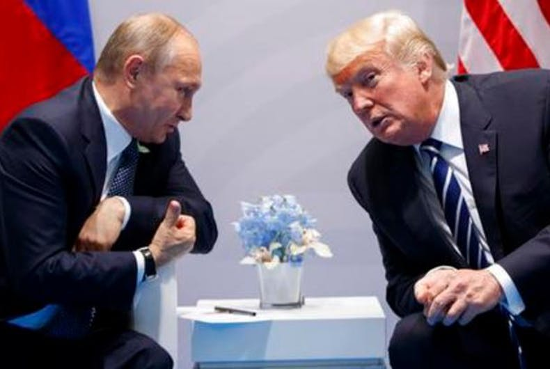 Trump's Ukraine scandal is only going to embolden Putin and his anti-gay thugs