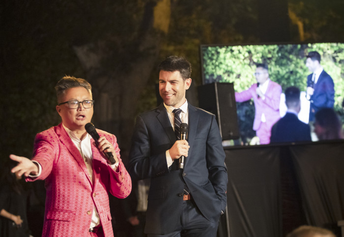 Alec Mapa and Max Greenfield host the Family Equality Los Angeles Impact Awards.
