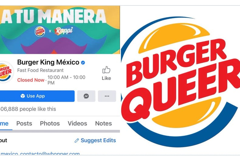 Burger King Mexico changed their logo to