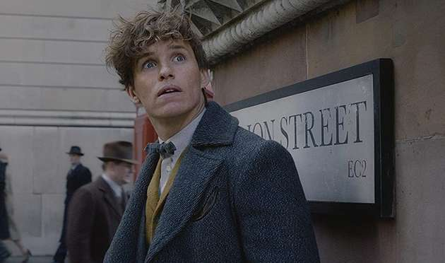 Eddie Redmayne in Fantastic Beasts: The Crimes of Grindelwald.
