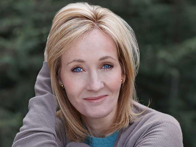 Harry Potter author JK Rowling.