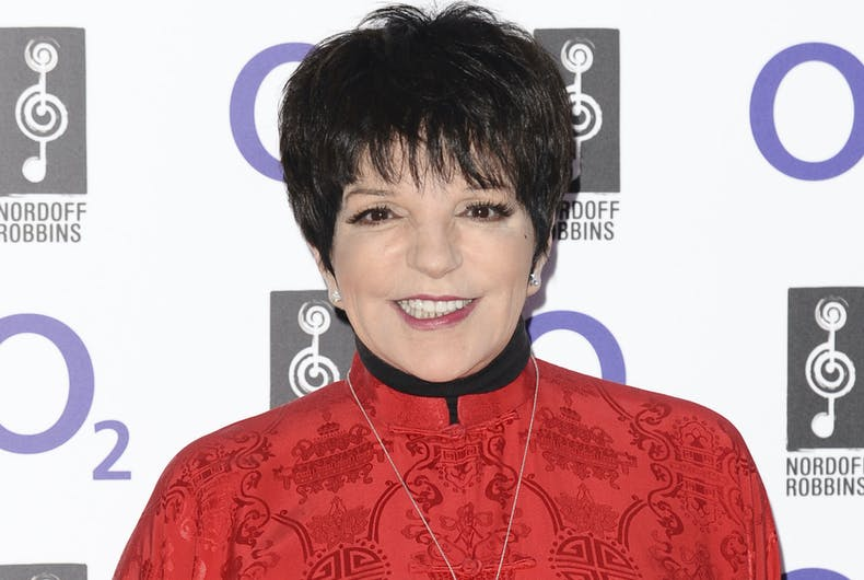 Liza Minelli arrives for the Silver Clef Awards 2011 at the Park Lane Hilton, London
