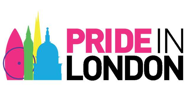 The Pride in London logo