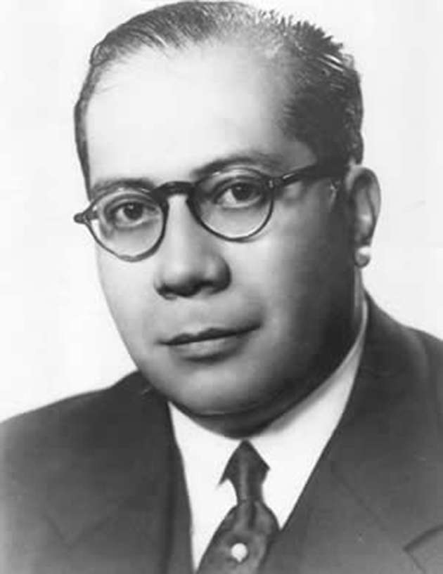 Argentina's first health minister Ramon Carrillo.