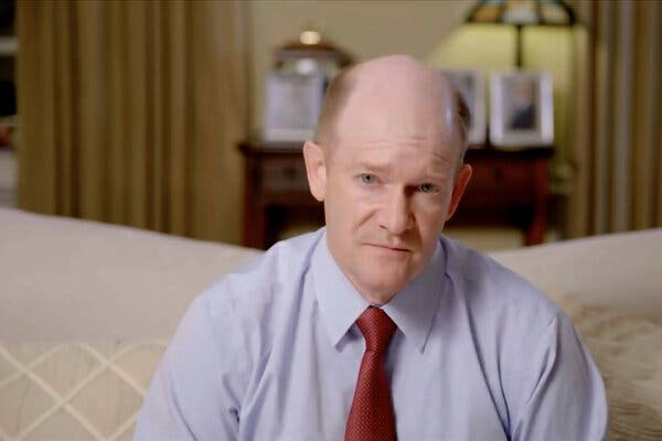 Senator Chris Coons addressed the virtual convention on Thursday.