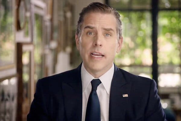 """Hunter Biden said his father would be """"the best friend you've ever had."""""""