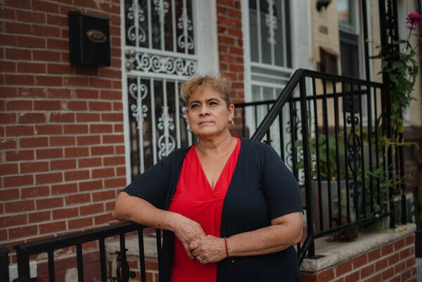 """""""There are a lot of people who don't want to disinfect their own homes,"""" said Maria Del Carmen, """"so they call a housekeeper."""""""