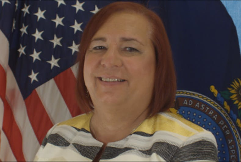 Stephanie Byers could be the first out trans person in the Kansas legislature