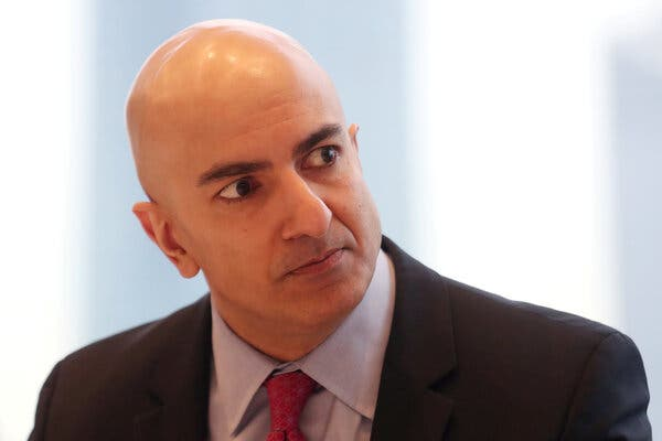 Neel Kashkari, president of the Federal Reserve Bank of Minneapolis, was one of two votes against the Fed's policy statement.