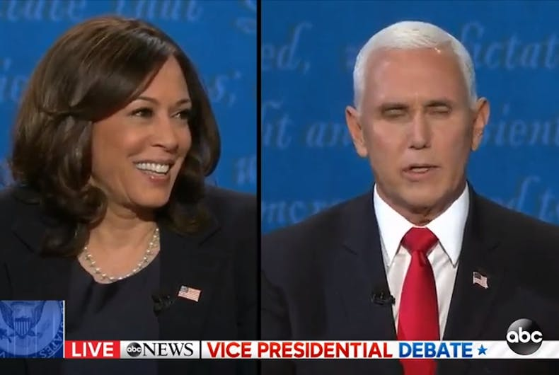 The vice presidential debate proved that Mike Pence is full of crap