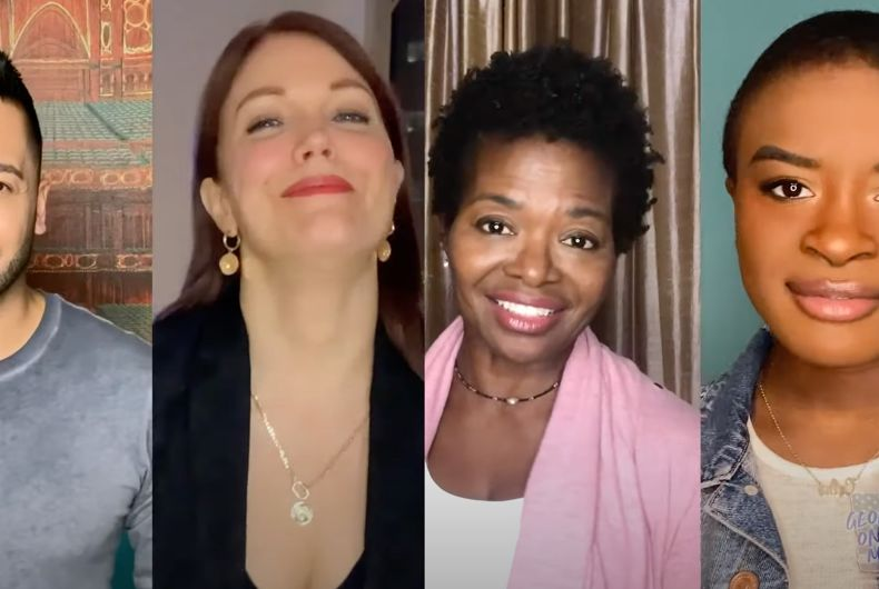 Dozens of Broadway stars are joining together to support Democrats in the Georgia special election.