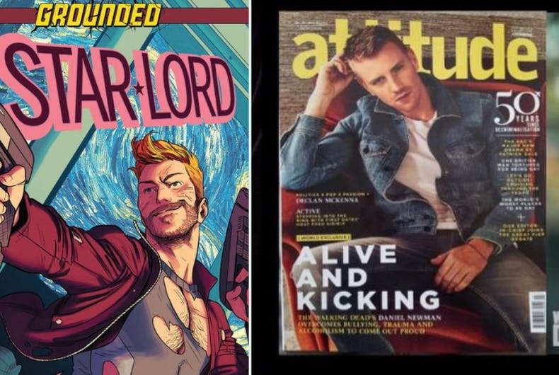Should Daniel Newman replace Chris Pratt as Star-Lord in the Guardians of the Galaxy series?