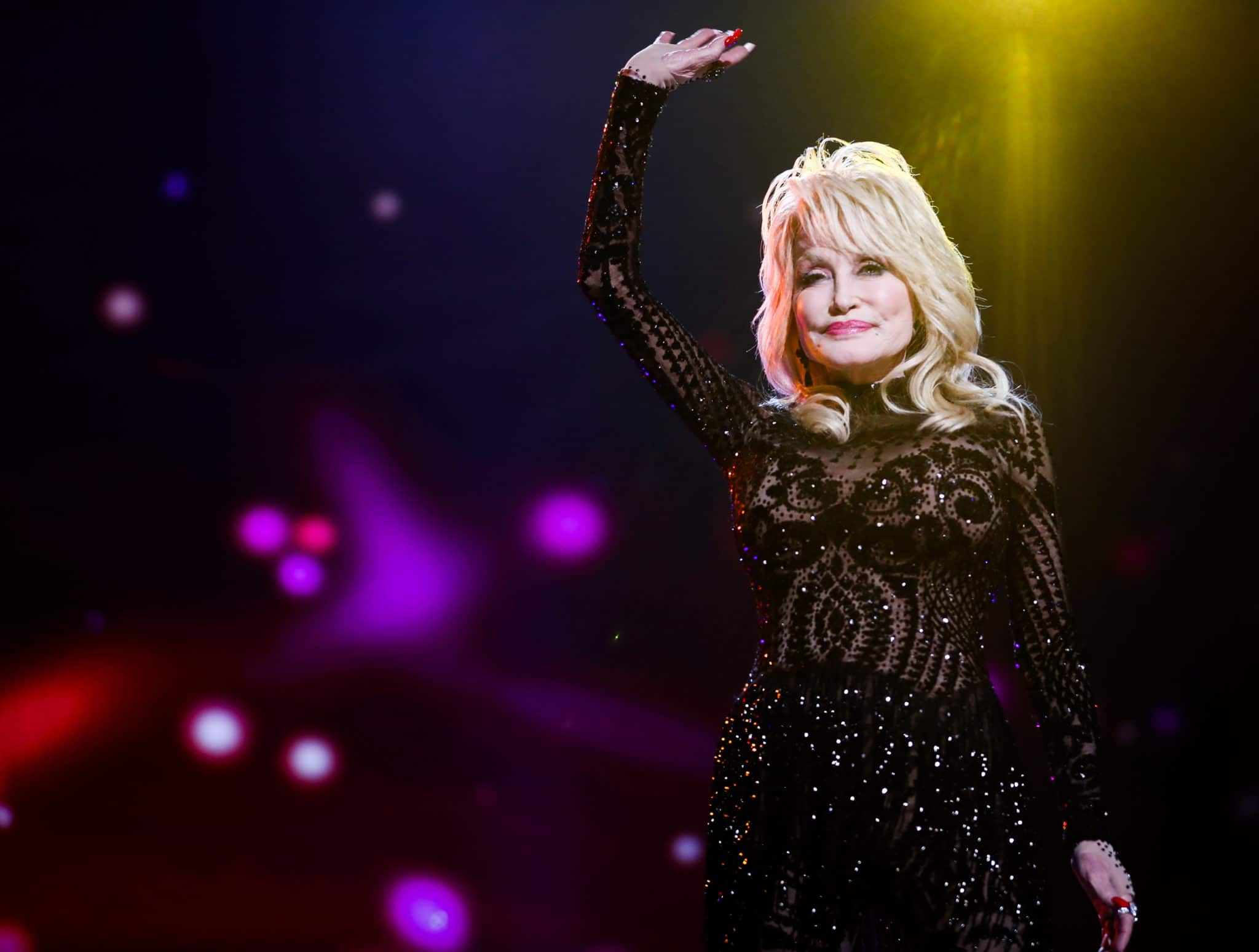 Dolly Parton says Donald Trump and Joe Biden tried to give her top honour