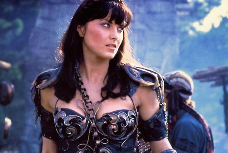 Lucy Lawless gutted Kevin Sorbo after he claimed on Twitter that MAGA rioters were liberals