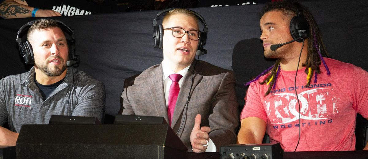 Ring of Honor's Ian Riccaboni uses his voice for LGBTQ charity