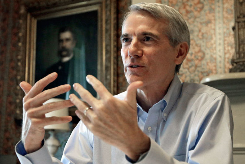 Rob Portman is considered pro-LGBTQ. But he's undercut our rights as much as he supported them.