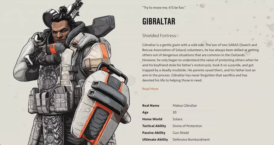Apex Legends confirms explosions enthusiast Fuse is a pansexual icon