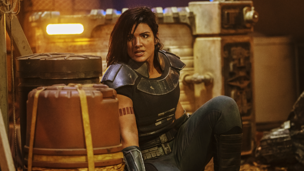 Fired Mandalorian star Gina Carano teams up Ben Shapiro for film project