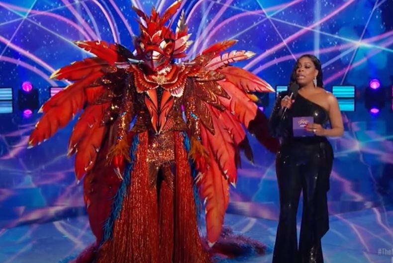 Caitlyn Jenner on the Masked Singer as Phoenix