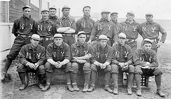New York's American League baseball team in 1903