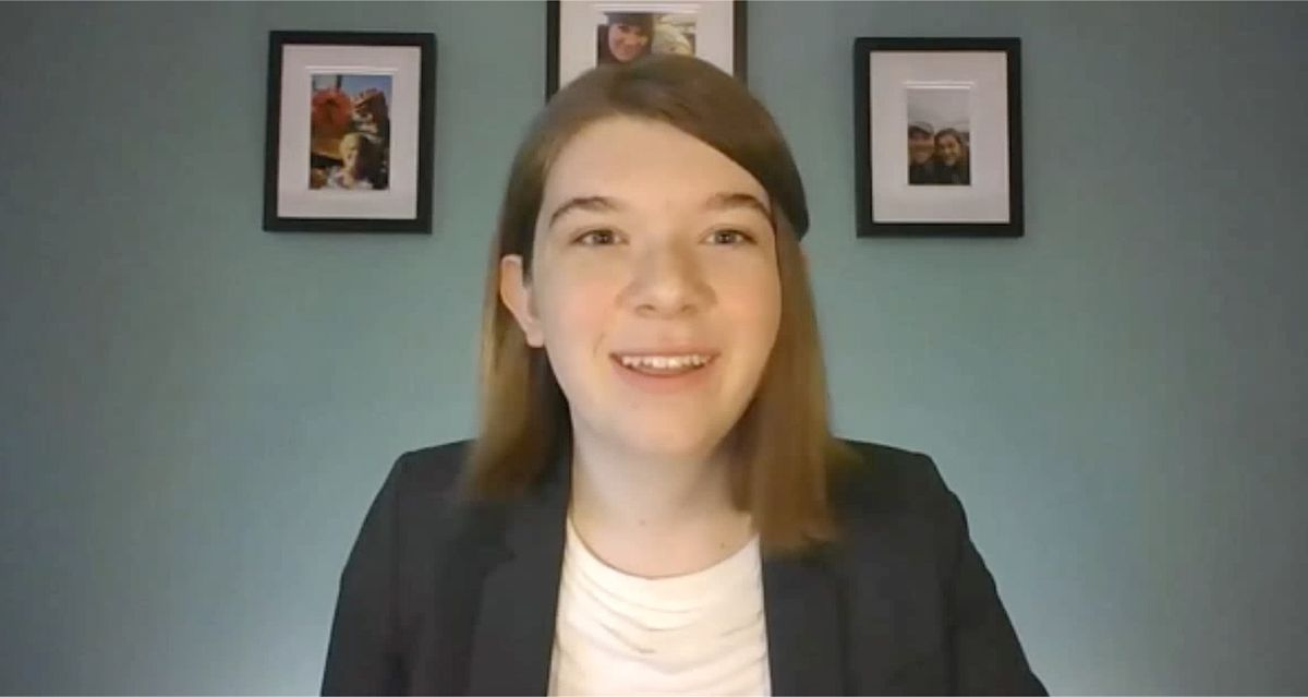 Stella Keating is a trans girl who testified before the Senate Judiciary Committee about the Equality Act.