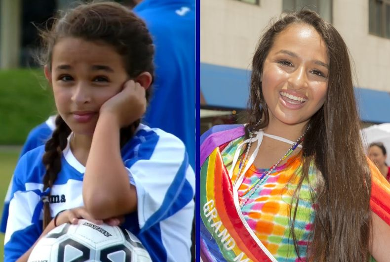 Jazz Jennings, then and now