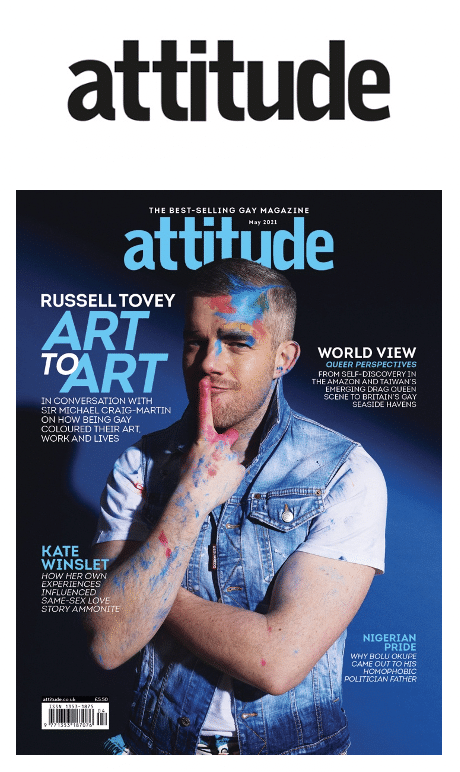 Russell Tovey Attitude magazine