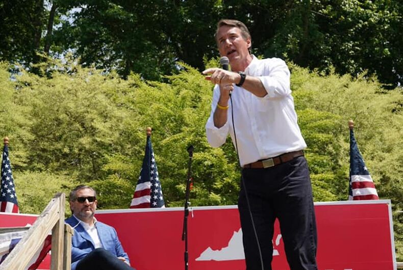 GOP gubernatorial candidate can't bring himself to say marriage equality is legal